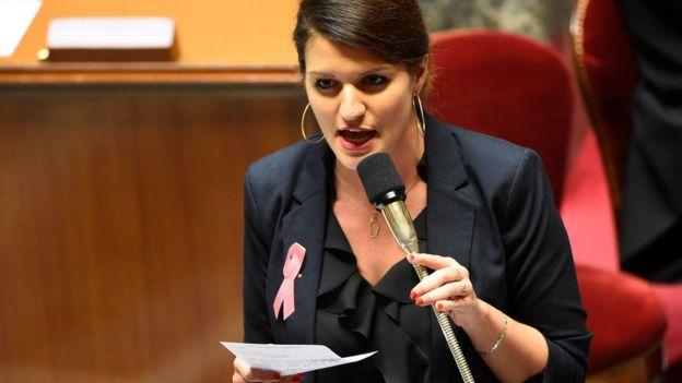 marlene schiappa speaks in french parliament