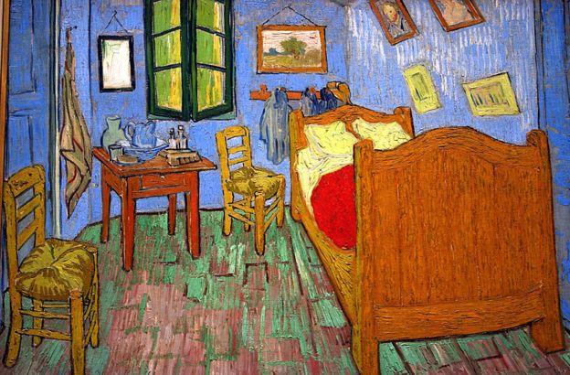 """""""Quarto em Arles"""" de Vincent van Gogh"""