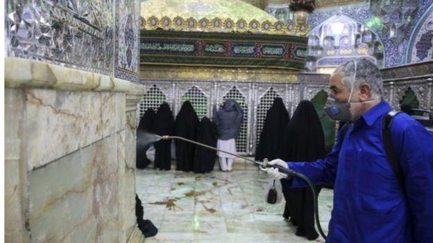 Shrine in Qom, Iran