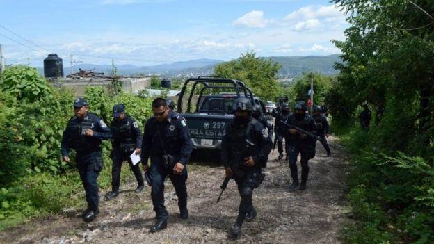 Policías estatales de Guerrero