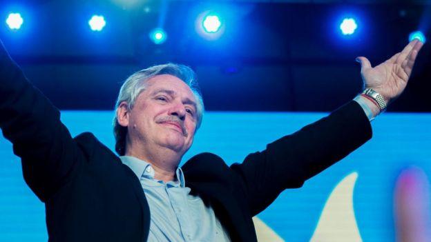 El gran triunfo electoral de Alberto Fernández en Argentina generó una fuerte reacción de los mercados.