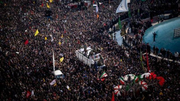 Manifestantes iranianos