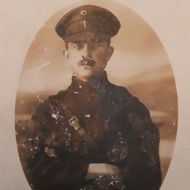 Optatius Buyssens fought as a soldier during World War One
