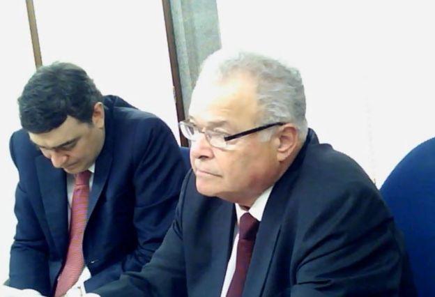 Emilio Odebrecht em vídeo de delação premiada