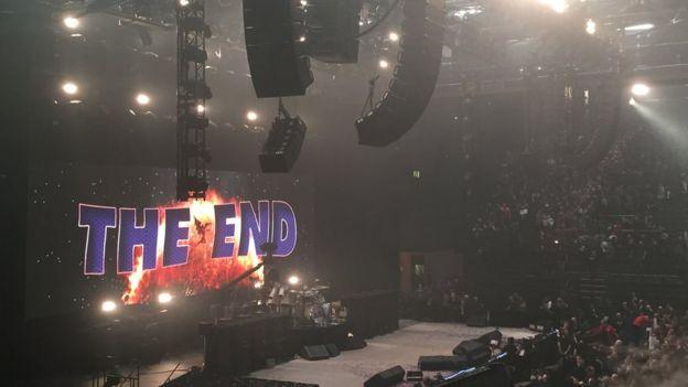 Black Sabbath's final gig