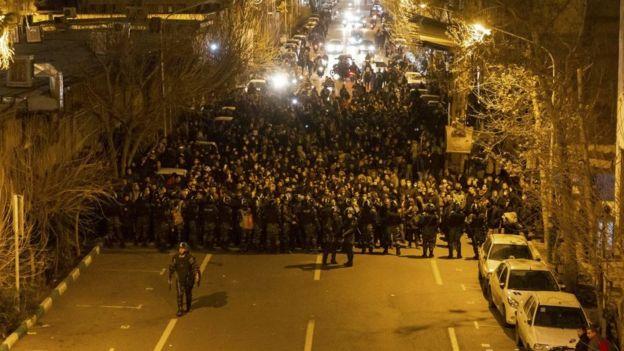 протест в Иране