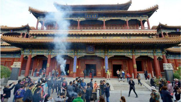 Một ngôi chùa ở Bắc Kinh