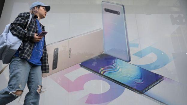 سامسونغ أس 10 واحد من أجهزة الهاتف التي تقبلها شبكة الجيل الخامس