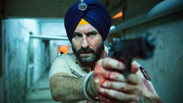 Saif Ali Khan in Sacred Games