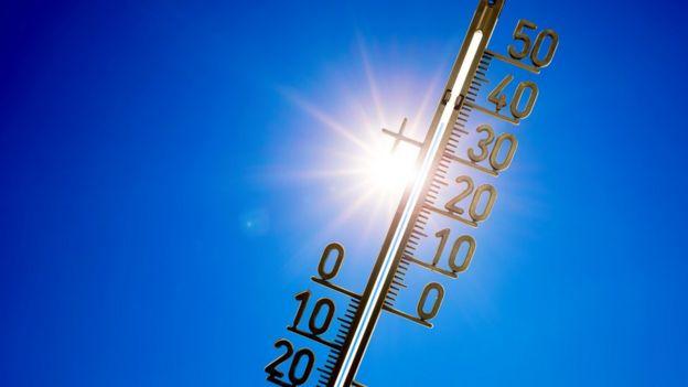 Sol y temperatura