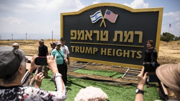 Desa Trump di Golan