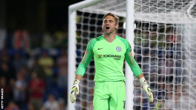 Premier League: Chelsea's Robert Green describes life as a third-choice  goalkeeper - BBC Sport