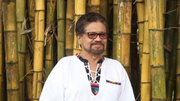 Captura de pantalla del video de Iván Márquez