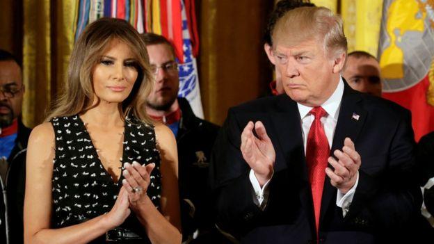 Melania Trump. Donald Trump, Amerika Serikat