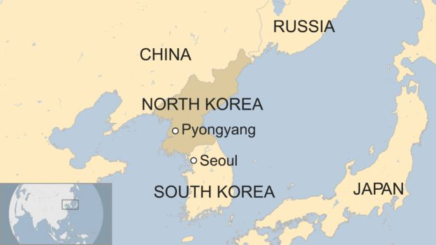 North korea what can the outside world do bbc news map gumiabroncs Image collections