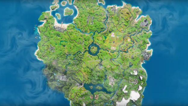 Fortnite Chapter 2: First glimpse of new season after map ... on fictional maps, house maps, bully scholarship edition cheats maps, simple risk maps, interesting maps, all the locations of the death camp maps, prank maps, cartography maps, metro bus houston tx maps, jrpg maps, snes maps, all of westeros maps, fishing maps, epic d d maps, google maps, cool site maps, dvd maps, mmo maps, made up maps, dragon warrior monsters 2 maps,