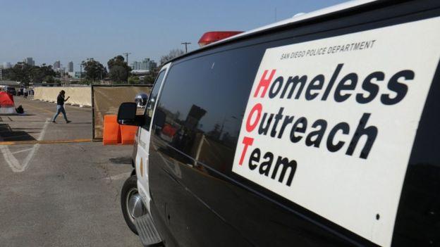 homeless outreach van