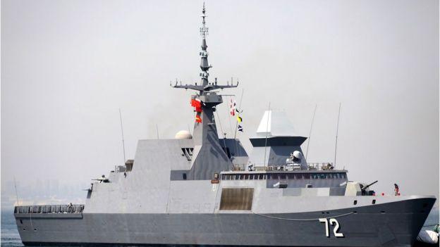 Tàu khu trục RSS Stalwart của Singapore