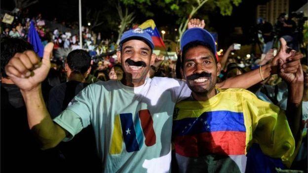 President Maduro memiliki pendukung setia.