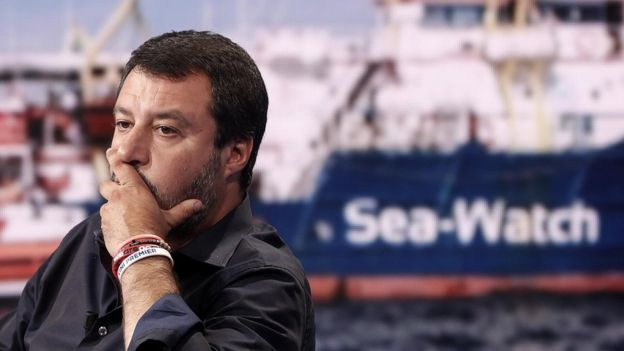 Italy migrant boat: Rescue captain accused of trying to sink