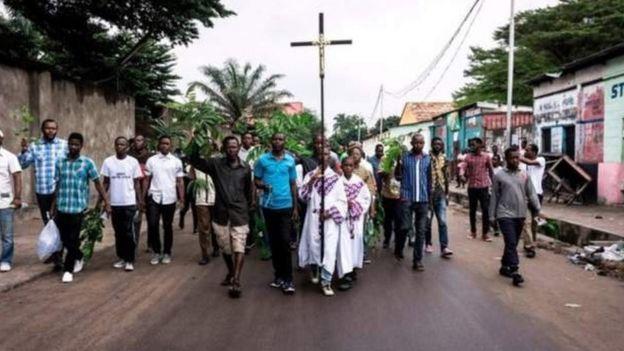 Les manifestations antigouvernementales de dimanche dernier étaient organisées par un collectif d'intellectuels proches de l'église catholique.