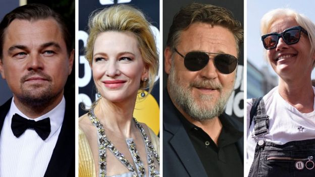 Leonardo DiCaprio, Cate Blanchett, Russell Crowe and Emma Thompson have all spoken out about climate change