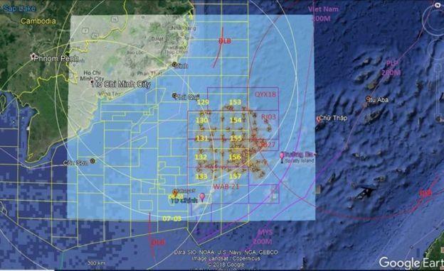 Trung Quốc khảo sát và uy hiếp bên trong EEZ 200 hải lý của Việt Nam