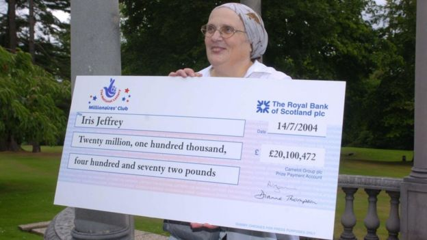 National Lottery: Two winners share record £66m prize - BBC News