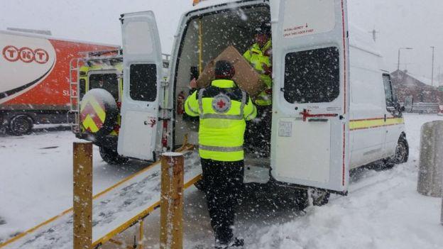 La Cruz Roja también se ha movilizado para ayudar (Foto: Cruz Roja)
