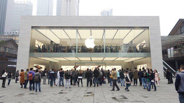 Chengdu Apple store, China