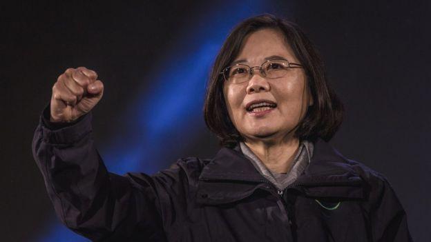 Taiwanese President-elect Tsai Ing-wen