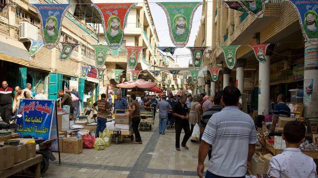 Calle de Bagdad, Irak.