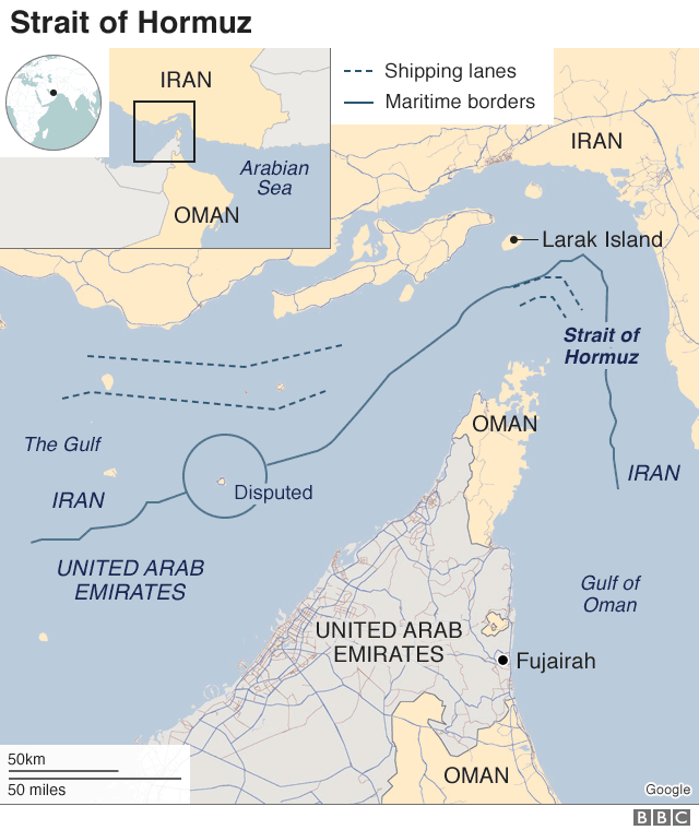 Iran tanker seizure: What is the Strait of Hormuz? - BBC News