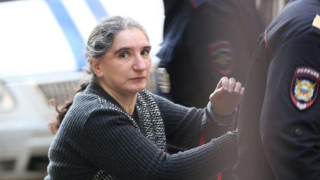 Сестра Беджамова Лариса Маркус