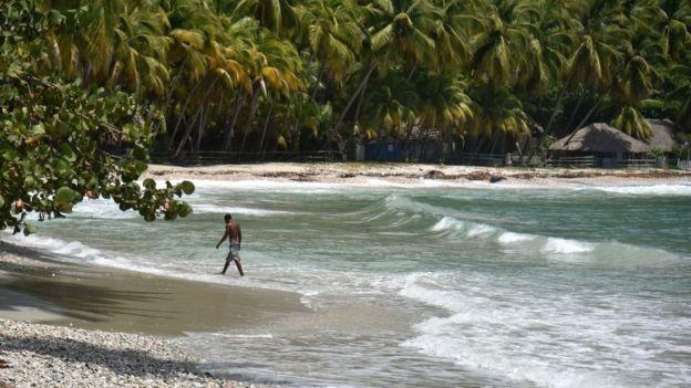 playa en haití