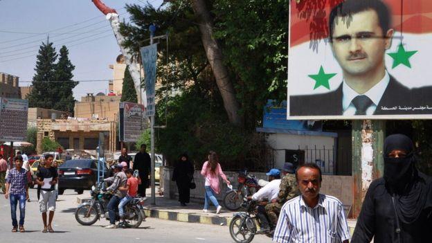 Esad, düşmanlarının neredeyse tamamen üstesinden geldiğini düşünüyor.