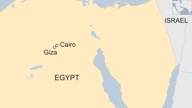 deadly blast hits tour bus near giza pyramids in egypt bbc news
