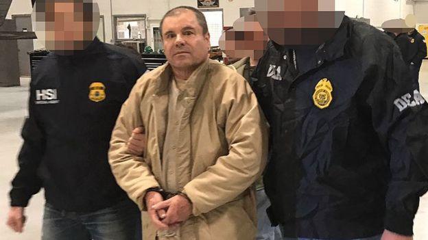 """""""El Chapo"""" Guzmán."""