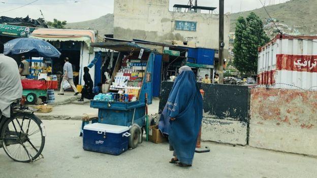 Calle de Kabul