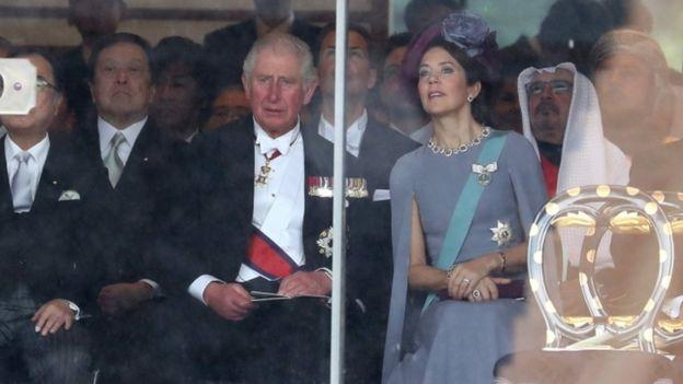 天皇陛下、「即位礼正殿の儀」で国内外に即位を宣言 , BBCニュース