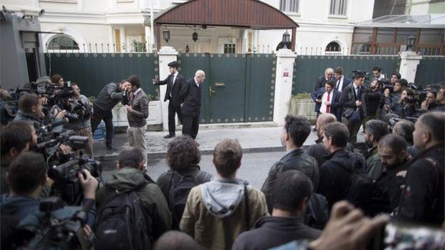 کنسولگری عربستان دوشنبه جست و جو شد