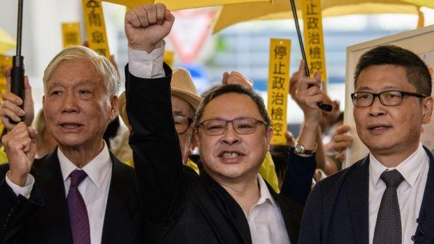 Chu Yiu-ming, Benny Tai, Chan Kin-man