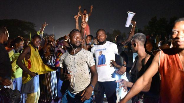 Felix Tshisekedi supporters