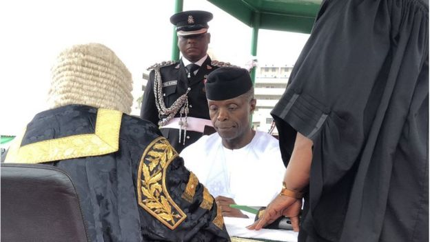 May 29 2019 in Nigeria: Muhammadu Buhari no give inaugural