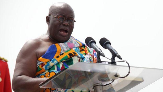 Nana Akufo-Addo, the new president of Ghana,