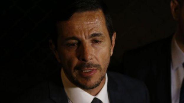 Advogado Zanone Junior, um dos quatro que fazem a defesa de Adelio Oliveira
