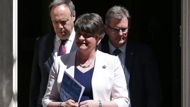 35713c2f12 Q A  A guide to the DUP-Tory deal one year on - BBC News