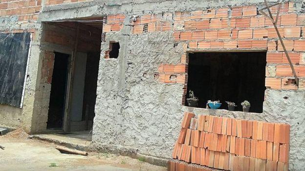Imagen de las obras en casa de Paloma.