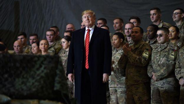 , Trump visits US troops in Afghanistan on Thanksgiving, Top Breaking News
