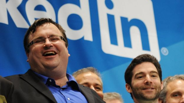 Fundador de LinkedIn